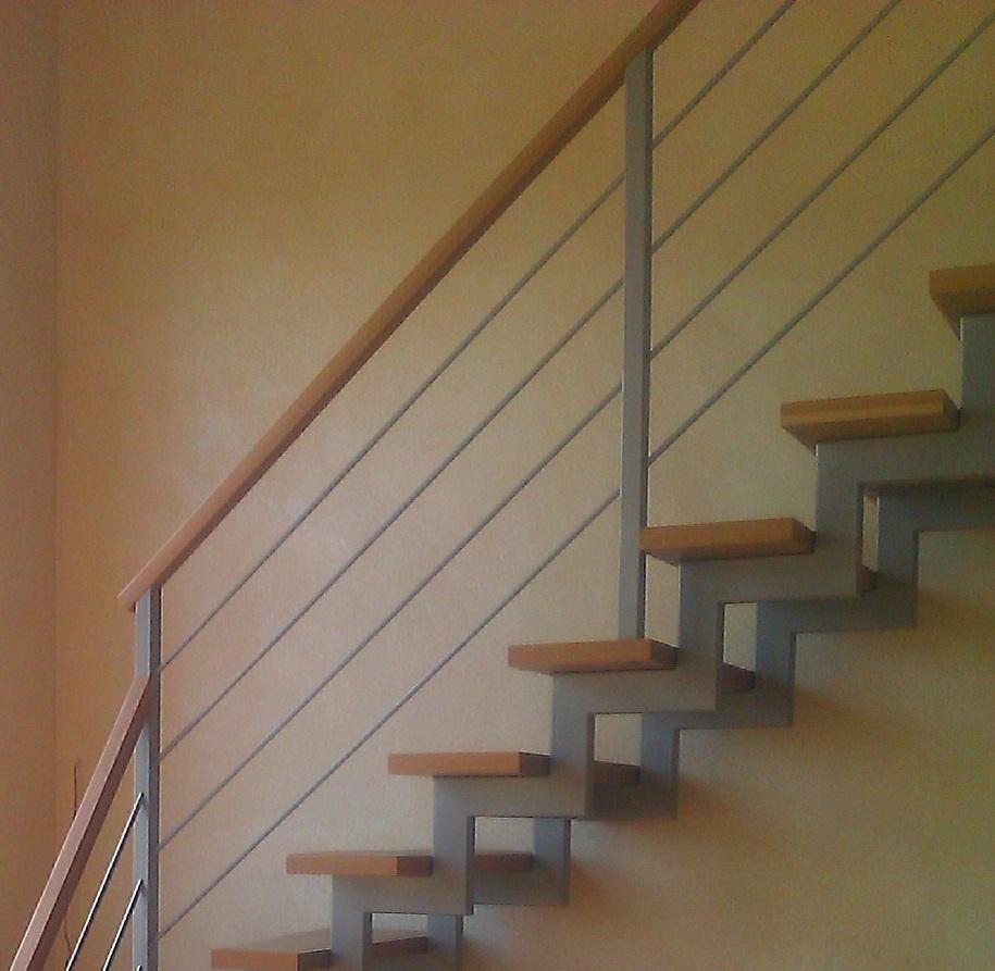 Zigzag Beam Stair